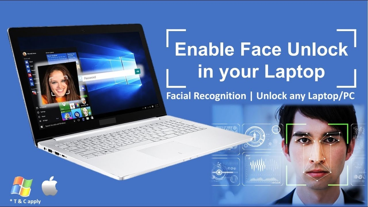 Enable Face Unlock in your PC/ Laptop | How to Use Face Unlock Technology  in Computer