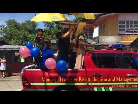 Miss earth 2017 parade at San Miguel Bulacan