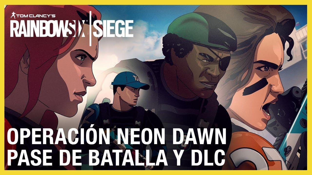Rainbow Six Siege - Operación Neon Dawn Pase de Batalla & DLC Tráiler   Ubisoft LATAM