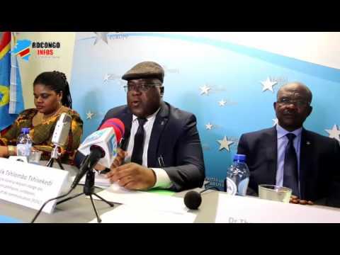TSHISEKEDI asali plein na Conférence de presse na Bruxelles. Alobi ndenge KABILA ako kima le 19/12