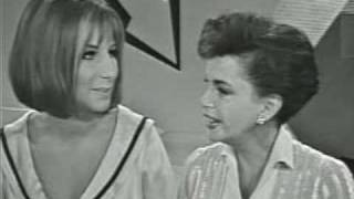 JUDY GARLAND AND BARBRA STREISAND: