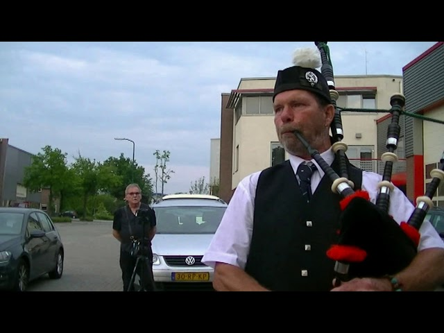 Lowland Brigade Pipe Band Zwolle Live @ Midland FM