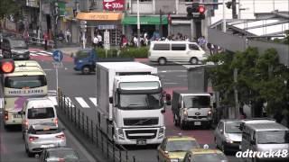 """Ad Truck of NANA MIZUKI """"LIVE THEATER -ACOUSTIC-"""" running in Shinjuku"""