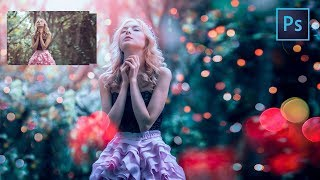 [ Photoshop Tutorial ] Cinematic BOKEH and BLUR BACKGROUND using Photoshop