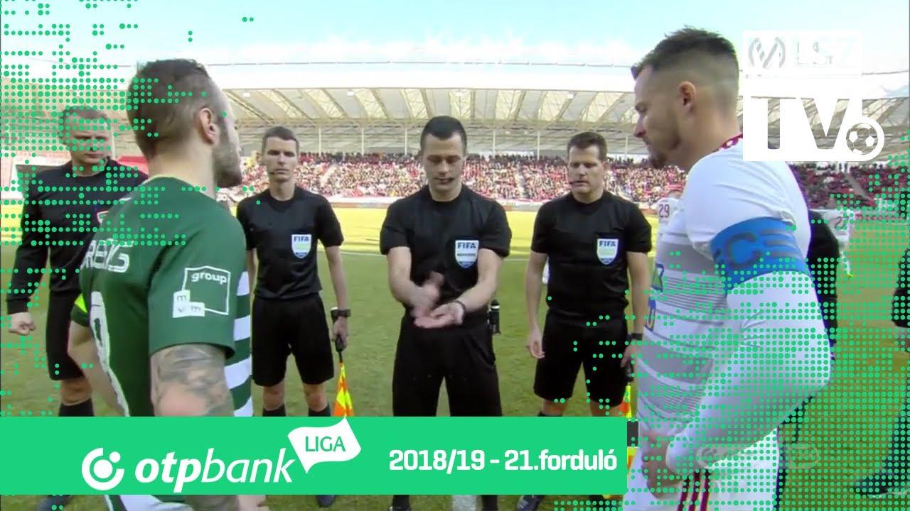 DVSC – Ferencvárosi TC | 2-1 | (0-1) | OTP Bank Liga | 21. forduló | MLSZTV