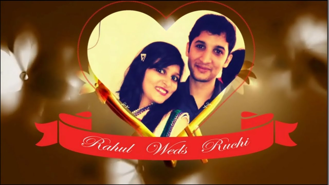 Whatsapp Pre-Wedding Video Invitation - Rahul & Ruchi - YouTube
