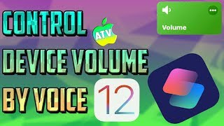 CYDIA ALTERNATIVE INSIDE A SIRI SHORTCUT/HOW TO CONTROL YOUR DEVICE VOLUME WITH YOUR VOICE ON IOS 12