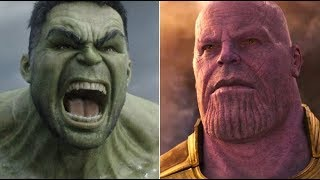 Ways Hulk Could Kill Thanos