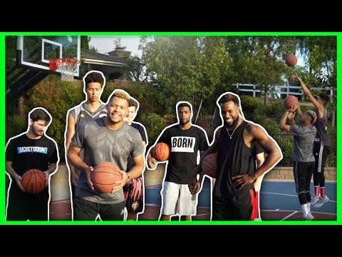 IMPOSSIBLE BASKETBALL CHALLENGE!! 2HYPE LEFT HANDED BASKETBALL GAME!!