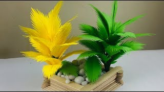 Paper Tree Making | Paper Tree | Palm Tree DIY | Tree Making Craft | Paper Craft s For School