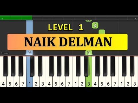 Not Piano Naik Delman - Tutorial Piano Tingkat 1 - Lagu Anak Anak