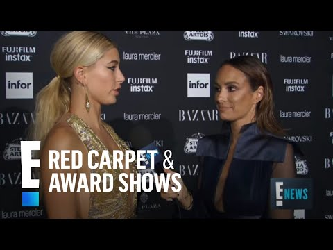 Hailey Baldwin Spills on Style at NYFW 2017 | E! Red Carpet & Award Shows