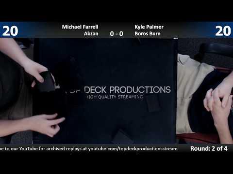 Modern w/ Commentary 8/8/17: Michael Farrell (Abzan) vs. Kyle Palmer (Boros Burn)