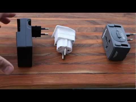 European electrical adapters / converters