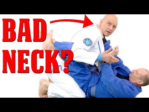How to Train BJJ with an Injured Neck - Grapplearts