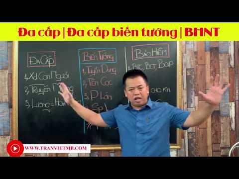 (Rất hay) Bảo hiểm nhân thọ khác gì so với đa cấp biến tướng | Trần Việt MB Ageas Life