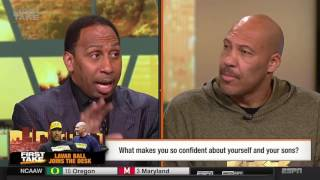 Lavar Ball- First Take (FULL VIDEO) (ORIGINAL VIDEO)