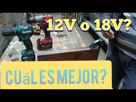 Comparativa Makita HP332 12V vs Milwaukee 2804 18V