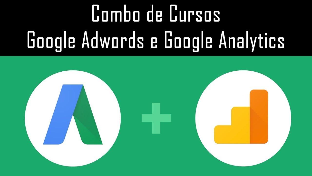 combo de cursos google adwords e google analytics youtube