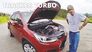 Chevrolet Tracker Premier Turbo no uso com Bob Sharp