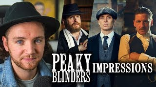 9 Peaky Blinders impressions - Tommy Shelby, Alfie Solomons, Abe Gold & More!