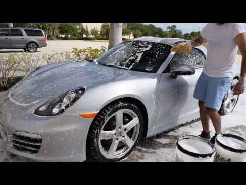 Detail Experience Episode 2: Polishing/Sealing Silver Porsche