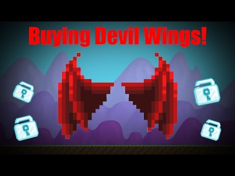 growtopia how to get wings for free