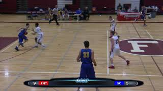 Santa Clara Bruins vs Fremont Firebirds, Boy's Basketball, January 26th, 2018