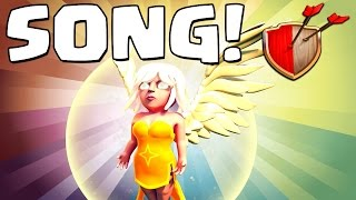 "Clash of Clans ""HEALER SONG!"" Clash of Clans Track 8/10 New Album!"