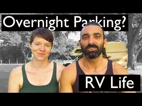 Where do we park our tiny home? || RV Life || Overnight parking