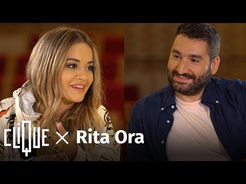 """Clique x Rita Ora : """"Pour réussir il faut attendre être patient et se détendre"""""""