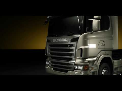 The new Scania R-series, New Scania Opticruise