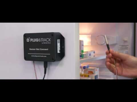 Life Temperature Monitoring with Sensor Net Connect and Thermotrack Webserve