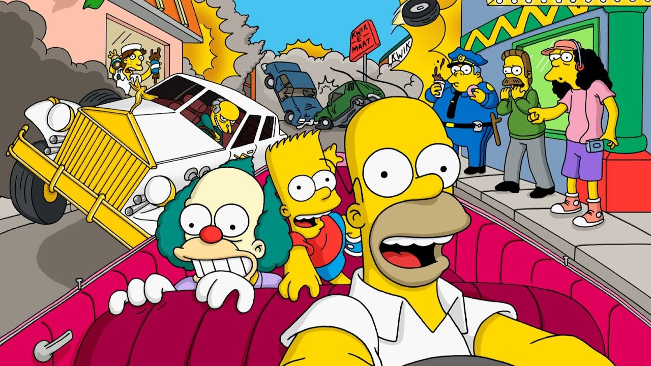 Plagie Taxi ! Simpsons Road Rage #145deCube Benzaie Live
