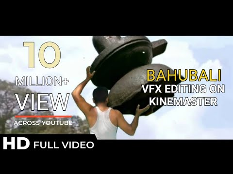 Kaun Hain Woh - Baahubali - The Beginning kinemaster editing video