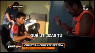 Esta es la confesión del sicario que asesinó a Ezequiel Nolasco
