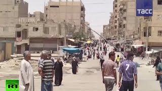 Кадры повседневной жизни сирийского Дейр-эз-Зора