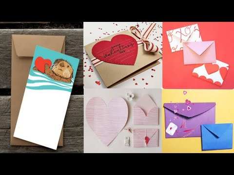Envelope Making With Paper  at Home   DIY पेपर लिफाफा Home made Envelope For Diwali Greetings