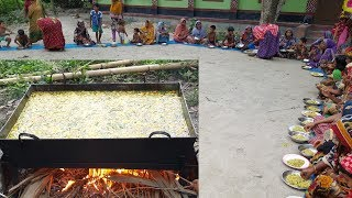 Vegetables, Spinach & Broken Rice Hodgepodge Cooking For Village Kids - Tasty Khud Khichuri Cooking