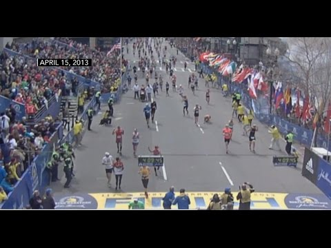 Never-before-seen videos show Boston Marathon explosions in