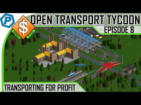 Open Transport Tycoon Deluxe | #8 | Bring back my Ore Mine