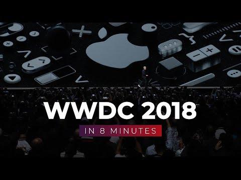 WWDC 2018 in 8 Minutes!