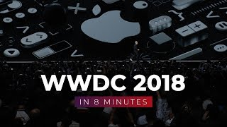 WWDC 2018 in 8 Minutes!