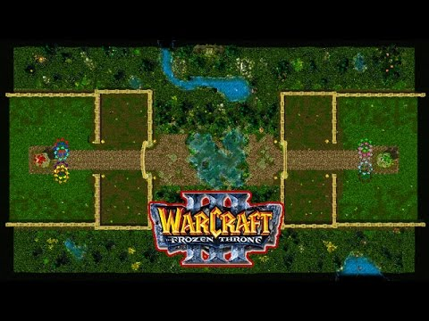 Warcraft 3/Maps #18 разные версии Castle Fight