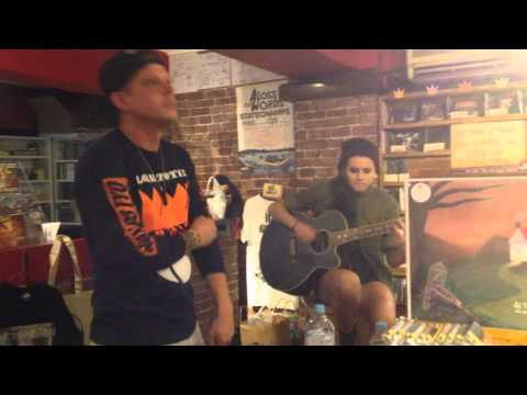 Distance (Acoustic) - A Loss For Words Ft. Lynn from PVRIS Live at NERDS Shibuya Japan 22/09/2014