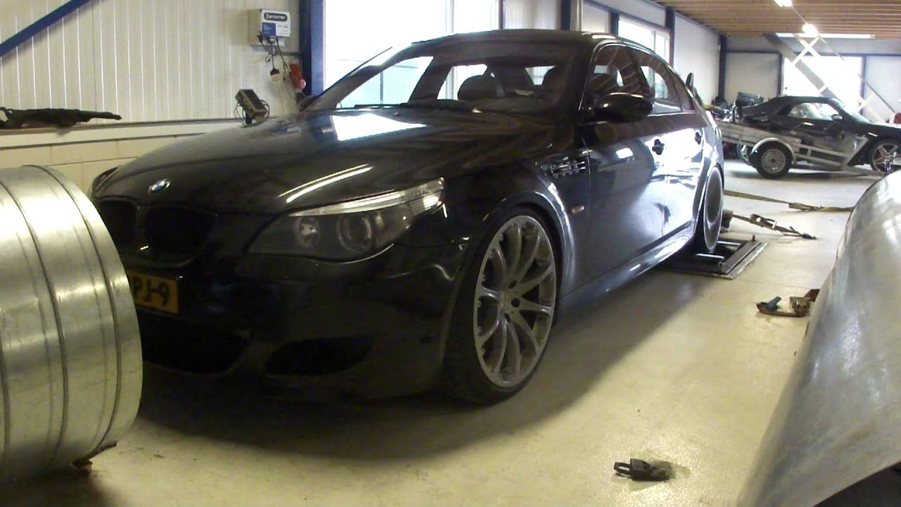 FASTTECH TUNING: BMW M5 E60 COMPRESSOR 650Pk 680Nm - YouTube