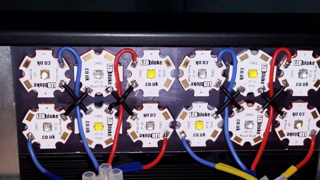 Plafoniere Led Wifi : Fluval edge custom led lights with tc controller youtube