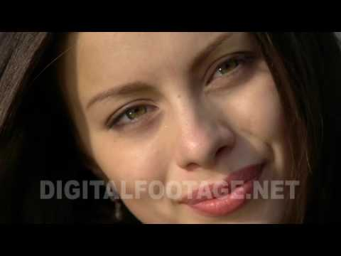 CLIP #1015 / Close Up Of Young Woman Face from YouTube · Duration:  19 seconds