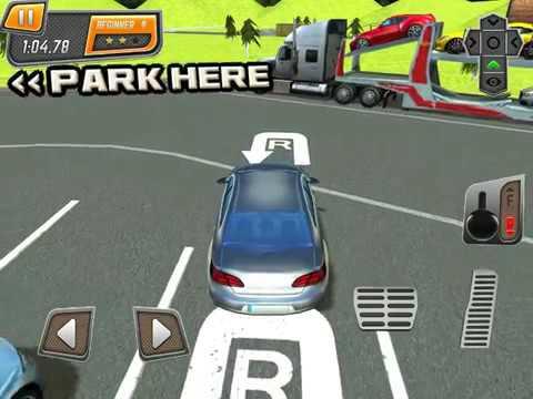 Petrol Station Car Parking Simulator a Real Road Racing Park Game iOS Gameplay
