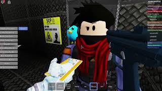 SCP ESCAPES THE VAULT!!!| Roblox| Site 61 roleplay